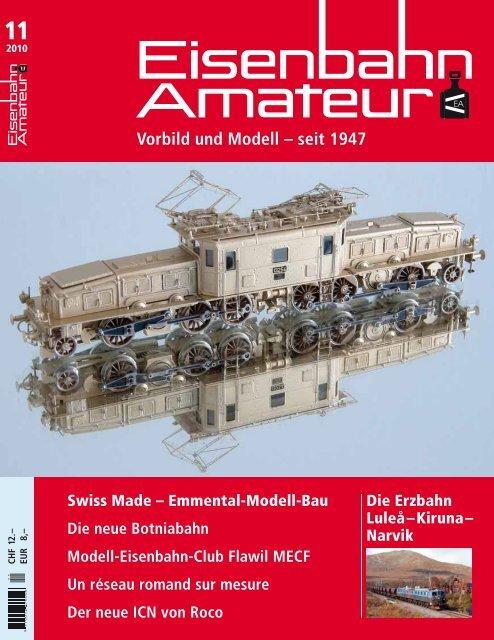 Vorbild und Modell – seit 1947 - EMB Emmental-Modell-Bau GmbH