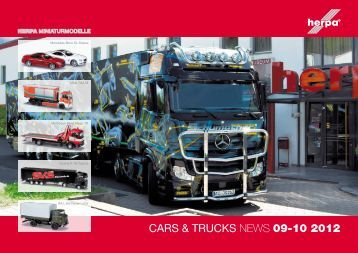 CARS & TRUCKS NEWS 09-10 2012 - Herpa