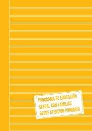 programa de educación sexual con familias desde atención primaria