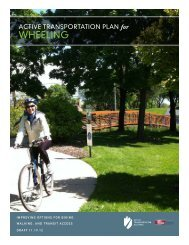active transportation plan - Village of Wheeling