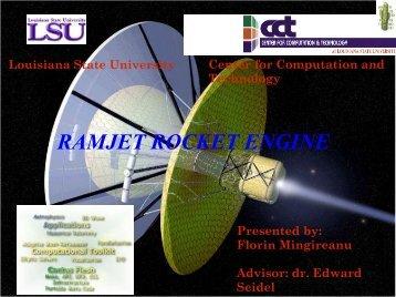 RAMJET ROCKET ENGINE - USRA