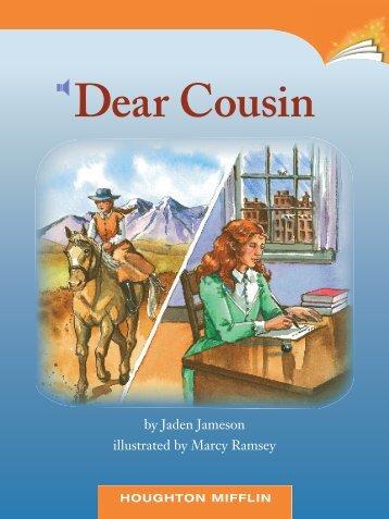 Lesson 24:Dear Cousin