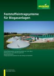 Biogas German - Huning Maschinenbau