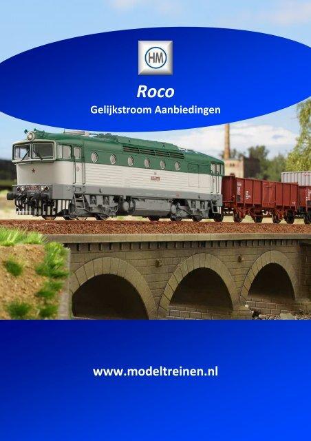 HM - Roco Gelijkstroom-Aanbiedingen - Harlaar Modeltreinen