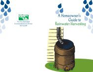 A Homeowner's Guide to Rainwater Harvesting - City of Springfield