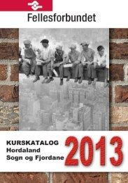 ADK Vest 2013 - Fellesforbundet