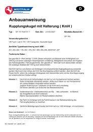 Anbauanweisung - Stellfeld & Ernst GmbH