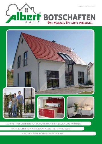 Ausgabe Frühling / Sommer 2011 Botschaften - Kowalski Haus