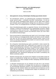 AGB Stand Juni 2009 - Leiber GmbH