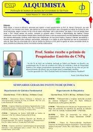 Alquimista nº 18 - Instituto de Química - USP