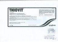 Tiovits 80 d.g. 2.klase 5 kg - VAAD