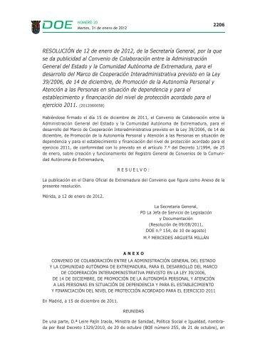 DOE 2012 - Nº 020.qxd - Diario Oficial de Extremadura