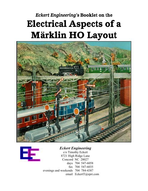 ho trains track and transformer wiring electrical aspects of a m  rklin ho layout atarrabi  ho layout