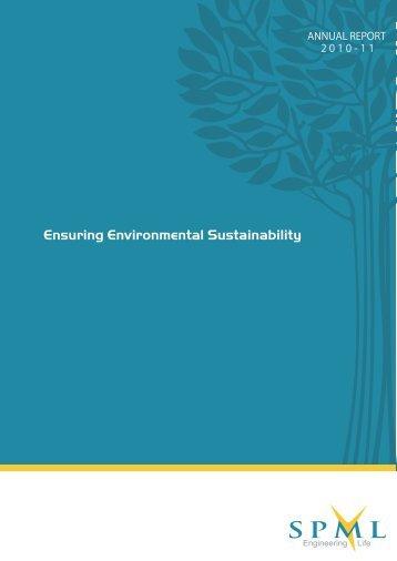 2010-11 Annual Report - SPML
