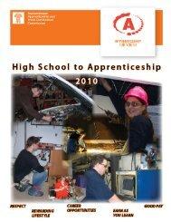 High School to Apprenticeship