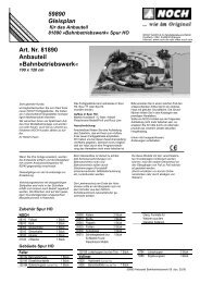 59890 Gleisplan Art. Nr. 81890 Anbauteil ...  - Euro Model Trains