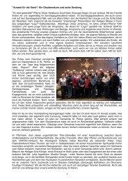 Bericht 2012 Henry Brinker - Katholische Pfarrgemeinde St. Petrus ...