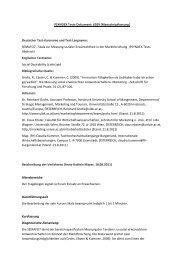 SEMAFO7 - Skala zur Messung soziale - ZPID