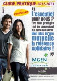 Téléchargez le guide pratique - Mgen