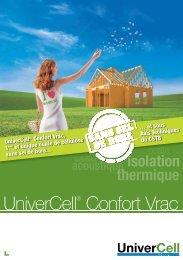 ouate de cellulose UniverCell® Confort - Homega