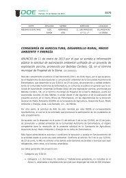 ANUNCIO de 11 de enero de 2013 por - Diario Oficial de Extremadura