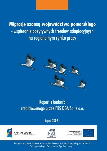 Migracje szansą województwa pomorskiego - Strona Departamentu ...