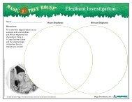 Elephant Investigation - Magic Tree House