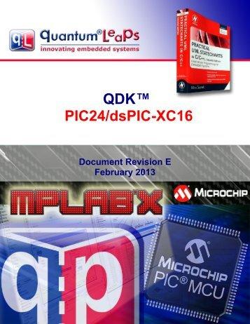 QDK PIC24/dsPIC-XC16 - Quantum Leaps