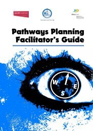 Pathways planning facilitator's guide - det - Education and Training ...
