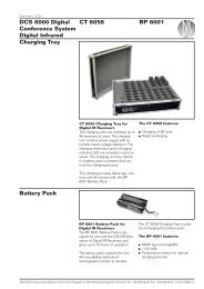 BP 6001 Battery Pack - DIS
