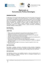Diplomado en Comunicación Política Estratégica - Instituto Global ...