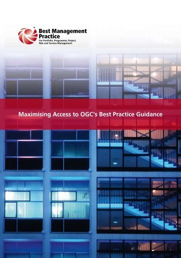 'Maximising Access to OGC's Best Practice Guidance: Online ...