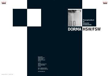 DORMA HSW - Sinai