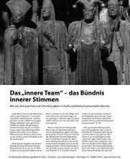 """Das """"innere Team"""" – das Bündnis innerer Stimmen - Ehe-, Familien ..."""