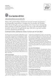 Informationsblad 2011 som pdf-fil (0,5 MB) - Carlstads-Gillet