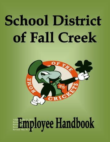 Employee Handbook - Fall Creek School District