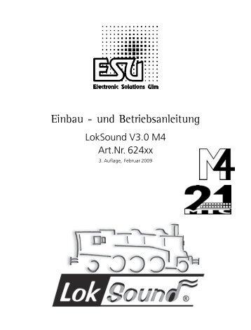 Anleitung ESU LokSound M4