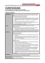 5. Foerderrichtlinien_Kurzversion - Gesundheits-Cluster