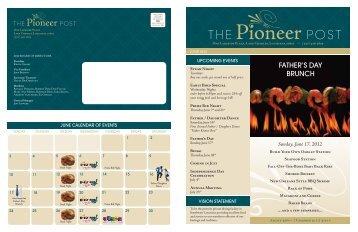 June 2012 - The Pioneer Club