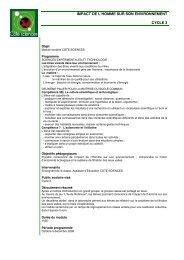 fiche peda module 1 cycle 3 - Cap Sciences