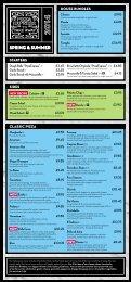 Download a takeaway menu - Pizza Express