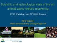 animal welfare science in society animal and human science