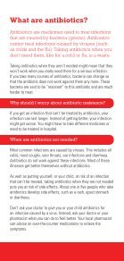 What are antibiotics? - Page 2