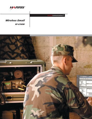 Wireless Email - Harris RF Communications
