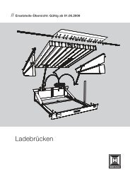 Ladebruecken - Hörmann KG