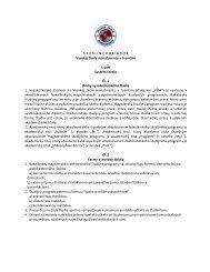 študijný poriadok - Vysoká škola manažmentu