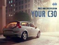 C30 Pricelist - Volvo