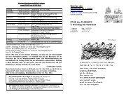 Brief an die Gemeinde St. Ludger 07.05. bis 15.05.2011 3. Sonntag ...