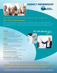 AGENCY MEMBERSHIP - Cruise Lines International Association