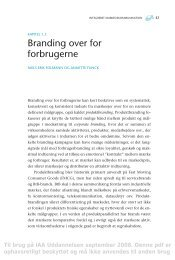 Branding over for forbrugerne Folmann og Flinck - IAA Marketing ...